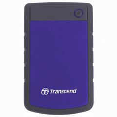 "Внешний жесткий диск TRANSCEND StoreJet 2TB, 2.5"", USB 3.0, фиолетовый, TS2TSJ25H3P"