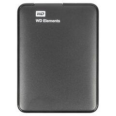 """Внешний жесткий диск WD Elements Portable 2TB, 2.5"""", USB 3.0, черный, WDBU6Y0020BBK-WESN"""
