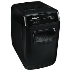 Уничтожитель (шредер) FELLOWES AUTOMAX 150C, АВТОПОДАЧА, 4 уровень секретности, фрагменты 4x38 мм, 150 листов, 32 л., FS-4680101