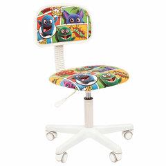 """Кресло детское СН KIDS 101, без подлокотников, цветное с рисунком """"Монстры"""""""