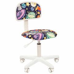 """Кресло детское СН KIDS 101, без подлокотников, цветное с рисунком """"Инопланетяне"""""""