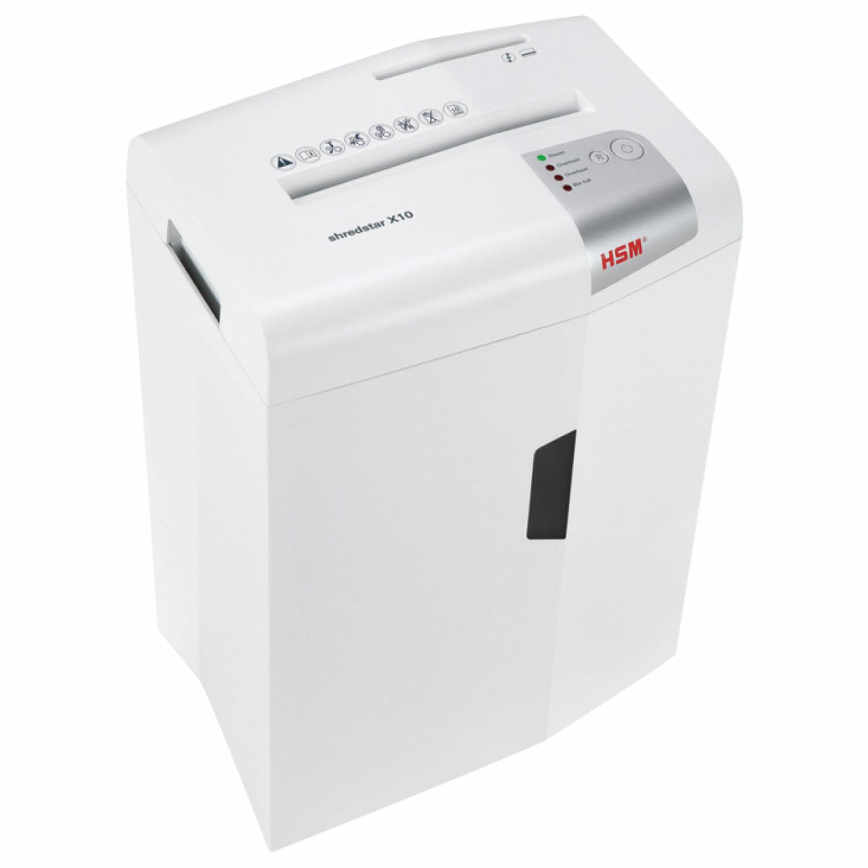 Уничтожитель (шредер) HSM SHREDSTAR X10-4.0x30, 4 уровень секретности, 4x30 мм, 10 листов, 20 литров, 1045111