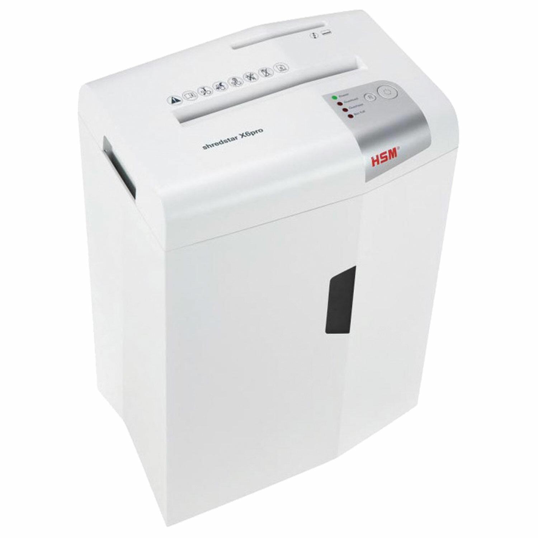 Уничтожитель (шредер) HSM SHREDSTAR X6-2.0x15, 5 уровень секретности, 2x15 мм, 6 листов, 20 л, 1046111