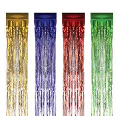Дождик новогодний, ширина 75 мм, длина 1,5 м, ассорти 4 цвета