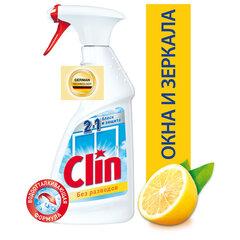 """Средство для мытья стекол, зеркал и поверхностей 500 мл, CLIN (Клин) """"Лимон"""", распылитель"""