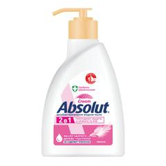 """Мыло жидкое 250 мл, ABSOLUT (Абсолют), """"Нежное"""", антибактериальное, дозатор"""