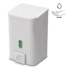 Диспенсер для жидкого мыла и антисептика PRIMA NOVA, НАЛИВНОЙ, белый, 0,5 л, SD01