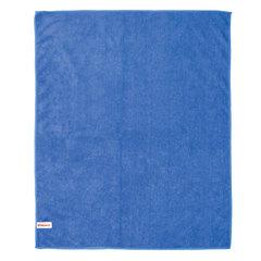 Тряпка для мытья пола, плотная микрофибра, 70х80 см, синяя, ЛАЙМА