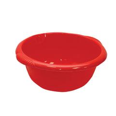Таз 10 л, хозяйственный, круглый, с ручками, пластиковый, 15х40х43 см, цвет красный, IDEA, М 2506