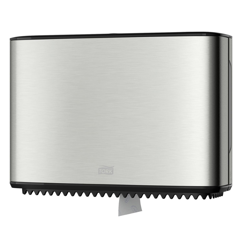 Диспенсер для туалетной бумаги TORK (Система T2) Image Design, mini, металлический, 460006
