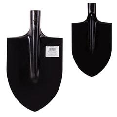 Лопата штыковая остроконечная, 21х28,5 см, закаленная, качество по ГОСТ, сталь 1,6 мм, без черенка, ЛКО