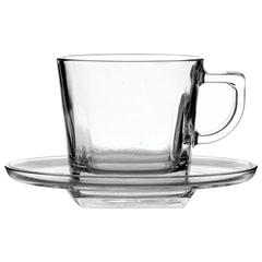 """Набор чайный, на 6 персон (6 чашек объемом 210 мл, 6 блюдец), стекло, """"Baltic"""", PASABAHCE"""