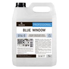 Средство для мытья стекол и зеркал 5 л, PRO-BRITE BLUE WINDOW, щелочное, низкопенное, концентрат