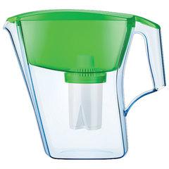 """Кувшин-фильтр для очистки воды АКВАФОР """"Лайн"""", 2,8 л, со сменной кассетой, зеленый"""