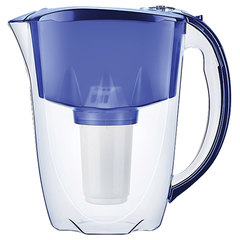 """Кувшин-фильтр для очистки воды АКВАФОР """"Престиж А5"""", 4,2 л, со сменной кассетой, синий"""