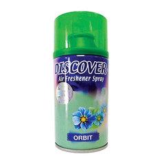 """Сменный баллон 320 мл, DISCOVER """"Orbit"""", свежий зеленый аромат, для диспенсеров DISCOVER"""