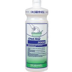 "Средство для мытья посуды 1 л, DR.SCHNELL ""ONEMU 2000"" (""Онемю 2000""), нейтральное, концентрат"