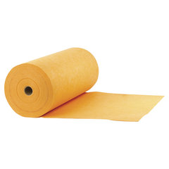 Тряпки для мытья пола, 75 шт., в рулоне, 50х60 см, вискоза (ИПП), 160 г/м2, оранжевые, ЛАЙМА EXPERT