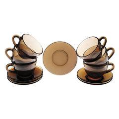 """Набор чайный на 6 персон, 6 чашек объемом 220 мл и 6 блюдец, """"Simply Eclipse"""", LUMINARC"""