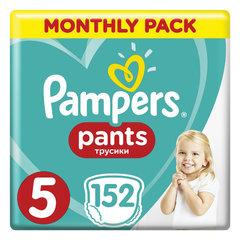 Подгузники-трусики 152 шт. PAMPERS (Памперс) Pants, размер 5 (12-17 кг)