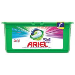 Средство для стирки в капсулах 30 шт. по 27 г ARIEL (Ариэль) Color