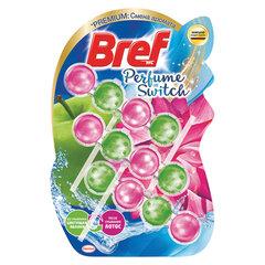 "Блок туалетный подвесной твердый 3 шт. х 50 г BREF (Бреф) Perfume Switch, ""Яблоня-лотос"""
