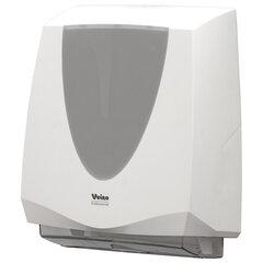 """Диспенсер для полотенец листовых VEIRO Professional (H2/H3) """"Prima"""", V/Z/W-сложения, белый"""