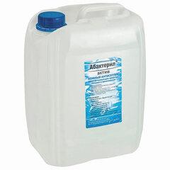 Антисептик для рук и поверхностей спиртосодержащий (64%) 5л АБАКТЕРИЛ-АКТИВ, дезинфицирующий, жидкость