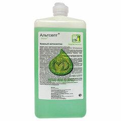 Антисептик кожный дезинфицирующий спиртосодержащий (70%) 1 л АЛЬТСЕПТ, готовый раствор, крышка