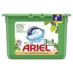 "Средство для стирки в капсулах 15 шт. ARIEL (Ариэль) ""Масло Ши"""