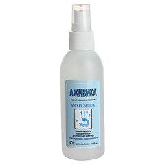 Антисептик для рук бесспиртовой с дозатором 100мл АЖИВИКА, дезинфицирующий, жидкость, спрей