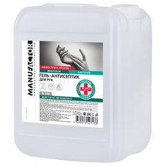 Антисептик-гель для рук спиртосодержащий (более 66%) 10л MANUFACTOR, дезинфицирующий