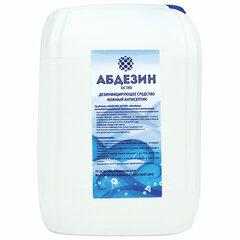 Антисептик кожный дезинфицирующий спиртосодержащий (64%) 5 л АБДЕЗИН-АКТИВ, готовый раствор
