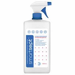 Антисептик кожный дезинфицирующий спиртосодержащий (70%) с распылителем 1 л SMARTSEPT, готовый раствор