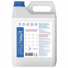 Антисептик кожный дезинфицирующий спиртосодержащий (70%) 5 л SMARTSEPT, готовый раствор