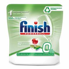 Таблетки для мытья посуды в посудомоечных машинах 42 шт. FINISH GRIN, бесфосфатные