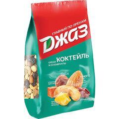 "Орехи и сухофрукты ДЖАЗ ""Коктейль"", фундук, кешью, миндаль, папайя, ананас, изюм, 300 г"