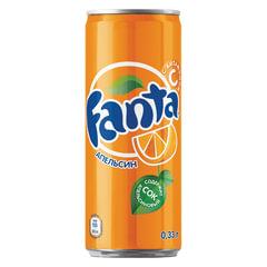 Напиток газированный FANTA (Фанта), 0,33 л