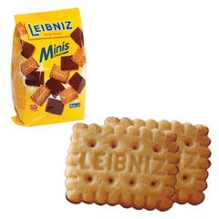 """Печенье BAHLSEN Leibniz (БАЛЬЗЕН Лейбниц) """"Minis Choko"""", сливочное с шоколадом, 100 г, Германия"""