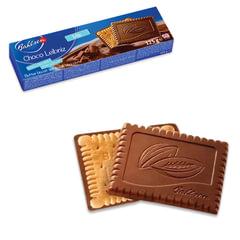 """Печенье BAHLSEN (Бальзен) """"Choco Leibniz Milk"""", сливочное в молочном шоколаде, 125 г, Германия"""