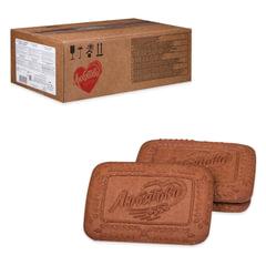 """Печенье ЛЮБЯТОВО """"Шоколадное"""", сахарное, весовое, 4,7 кг, гофрокороб"""