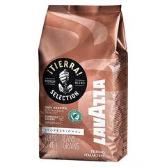 """Кофе в зернах LAVAZZA """"Tierra Selection"""", 1000 г, вакуумная упаковка, 4332"""