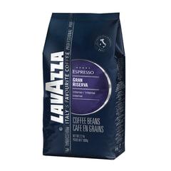 "Кофе в зернах LAVAZZA (Лавацца) ""Gran Riserva"", натуральный, 1000 г, вакуумная упаковка"
