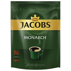 Кофе растворимый JACOBS MONARCH (Якобс Монарх), сублимированный, 240 г, мягкая упаковка