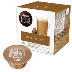 """Капсулы для кофемашин NESCAFE Dolce Gusto """"Cafe au lait"""", натуральный кофе с молоком, 16 шт. х 10 г"""