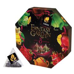"""Чай CURTIS (Кёртис) """"Fantasy Garden"""", набор 40 пирамидок по 1,5 г, ассорти, 8 вкусов"""