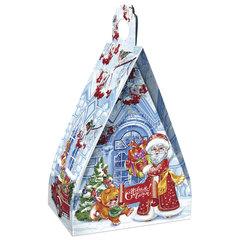 """Подарок новогодний """"Ледяной домик"""", 500 г, набор конфет и пр., ассорти, картонная коробка"""