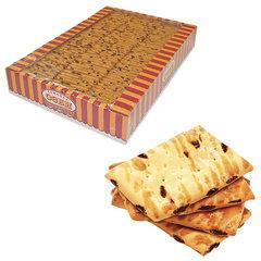 Печенье СЕМЕЙКА ОЗБИ, затяжное с изюмом, яблоком и корицей, 1,8 кг, весовое, гофрокороб