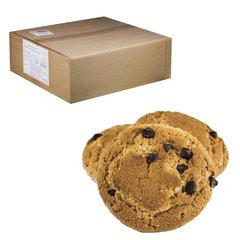 """Печенье овсяное ОРАНЖЕВОЕ СОЛНЦЕ """"Бок-о-бок"""" с шоколадными кусочками, весовое, 6 кг, гофрокороб"""