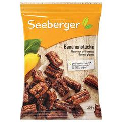 Бананы SEEBERGER кусочками, 200 г, Германия